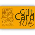 Carta Regalo da 10 euro
